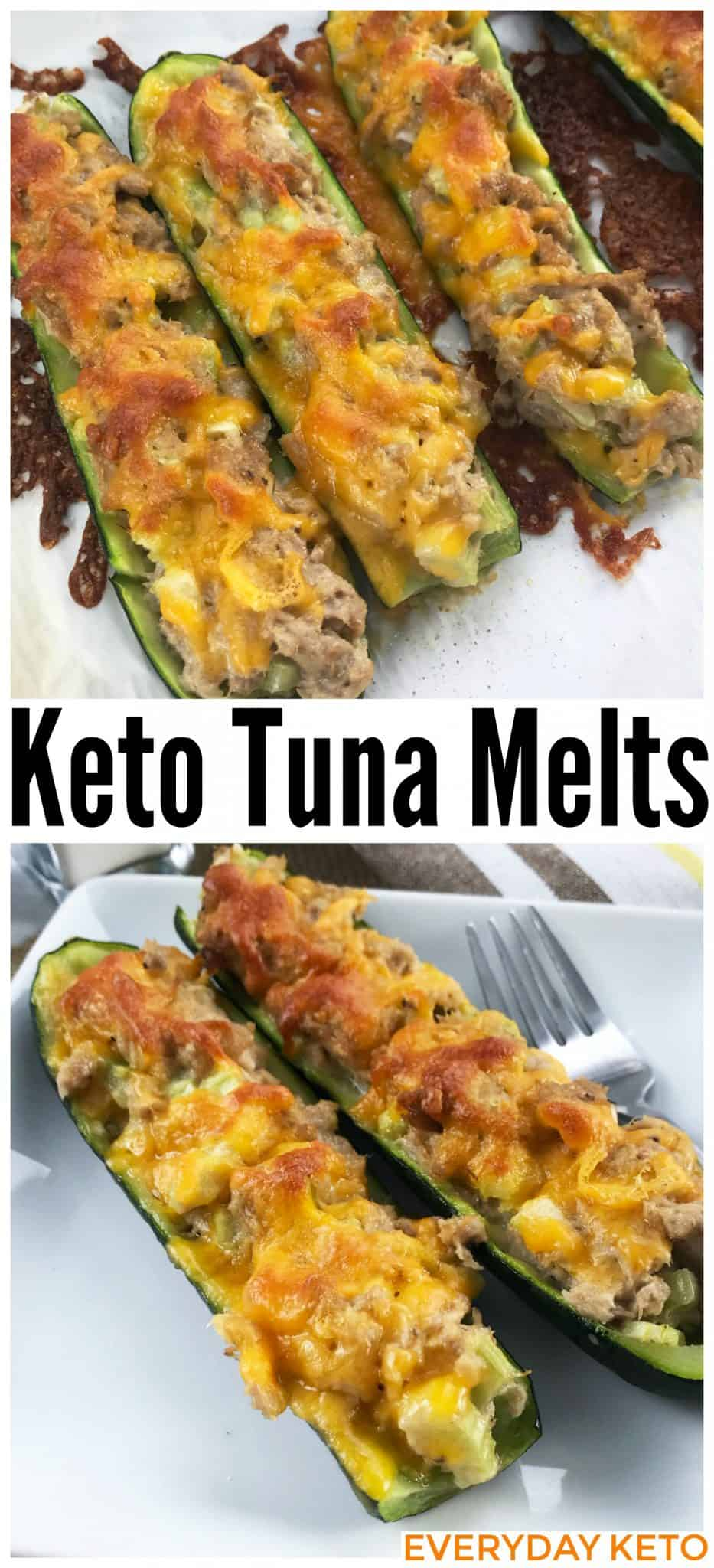 keto tuna melts