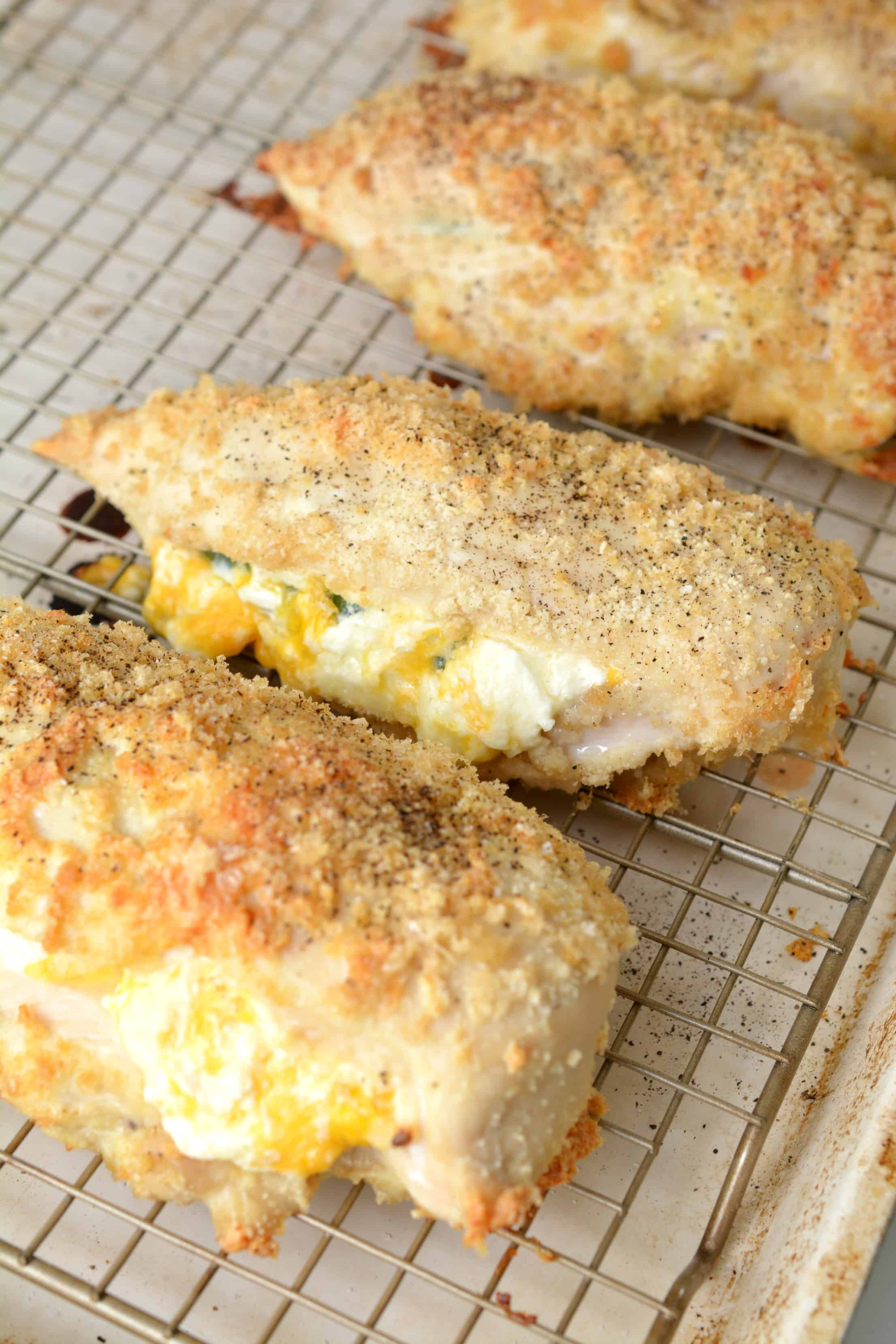 cream cheese stuffed chicken breast recipes