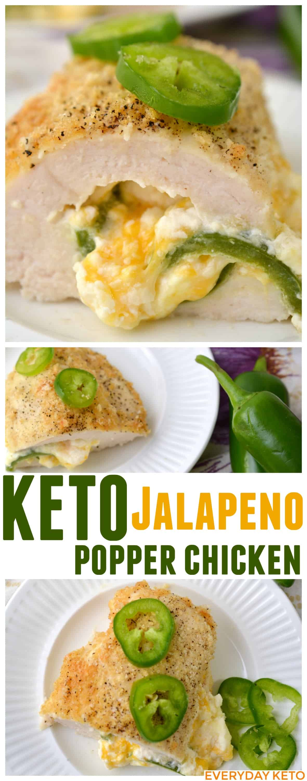 jalapeno popper chicken keto recipe