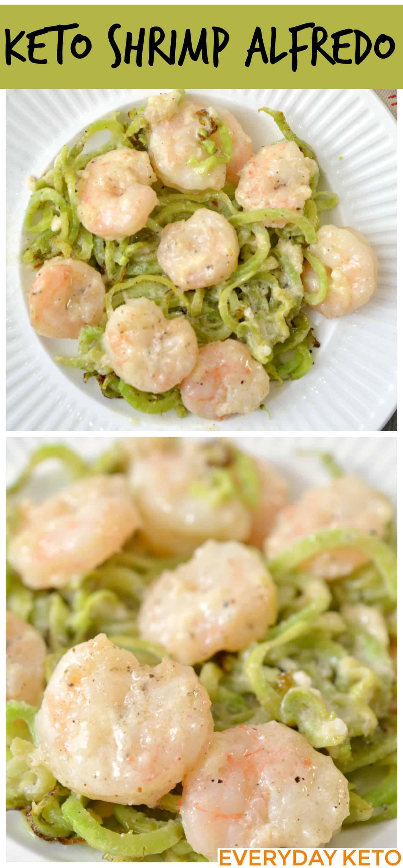 Keto Shrimp Alfred Recipe