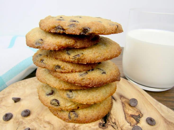 Chocolate Chip Cookies - Keto, Low Carb & Gluten Free
