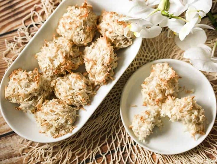 Keto Coconut Macaroons | Low Carb & Gluten Free