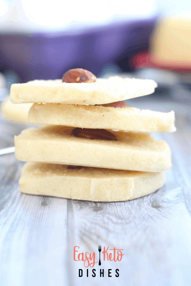 Keto Almond Cookies (low carb, keto friendly, THM:S) * EasyKetoDishes