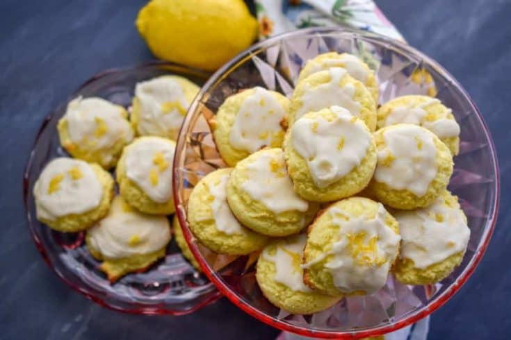 Easy Keto Lemon Cookies