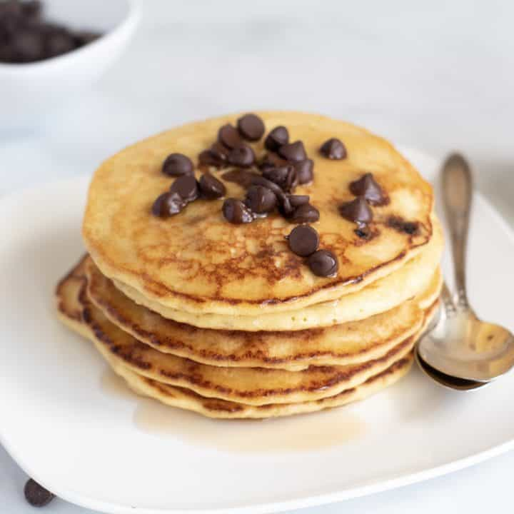 Chocolate Chip Keto Pancake Recipe
