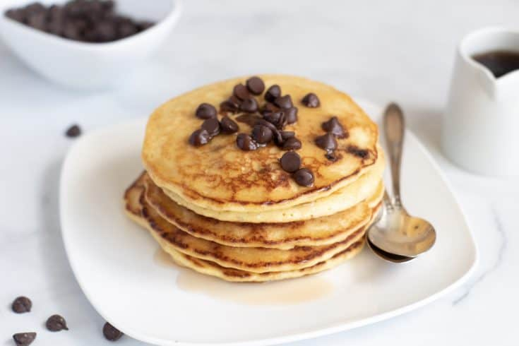 Chocolate Chip Keto Pancake Recipe