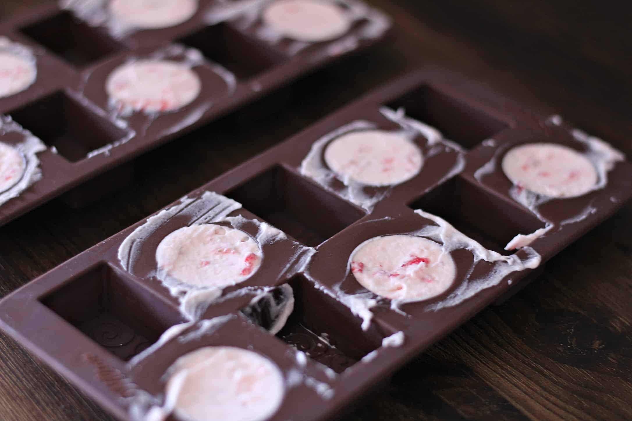 chocolate strawberry fat Bomb