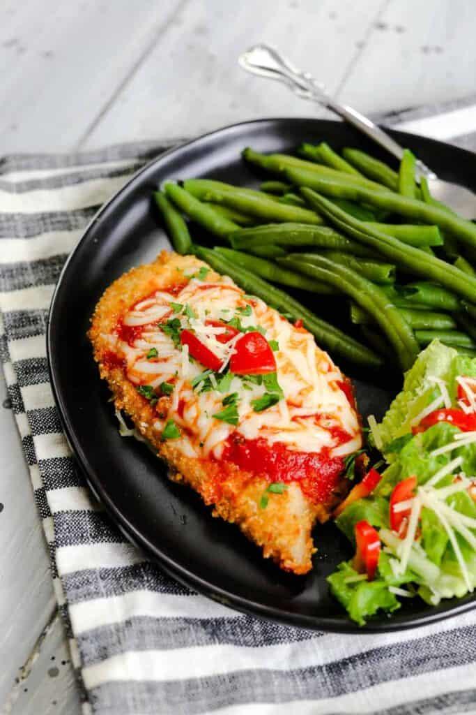 Keto Parmesan Crusted Chicken Everyday Ketogenic