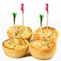 "Christmas Frill Toothpicks, 250 Red Green Wooden Cellophane Picks, 2.5"" Soodhalter Par-T-Frill Appetizer & Food Picks"
