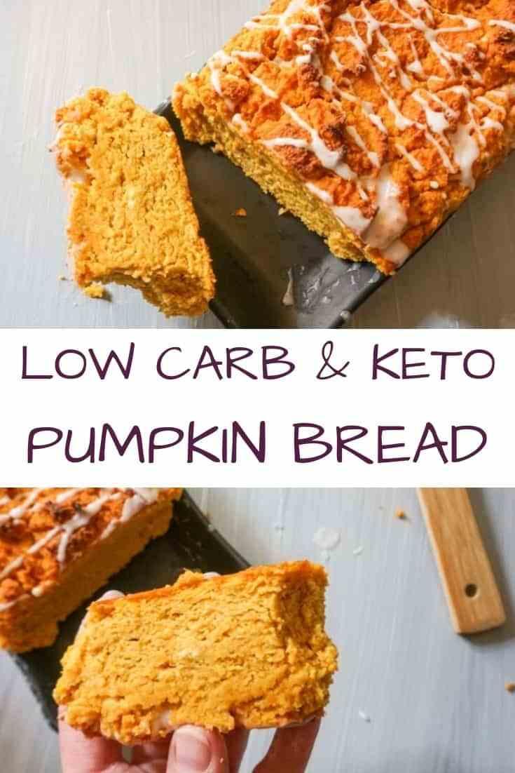 Keto Pumpkin Bread with Coconut Flour – Low Carb & Gluten-Free