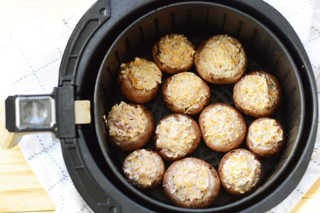 ready to cook stuffed mushrooms in instant pot