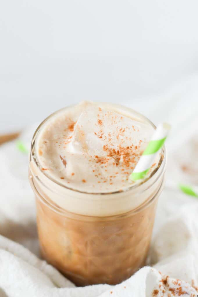 A cup of coffee, with Iced coffee and Latte