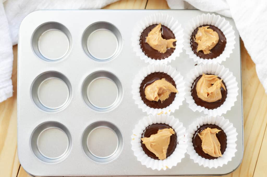 Chocolate and Peanut butter cup