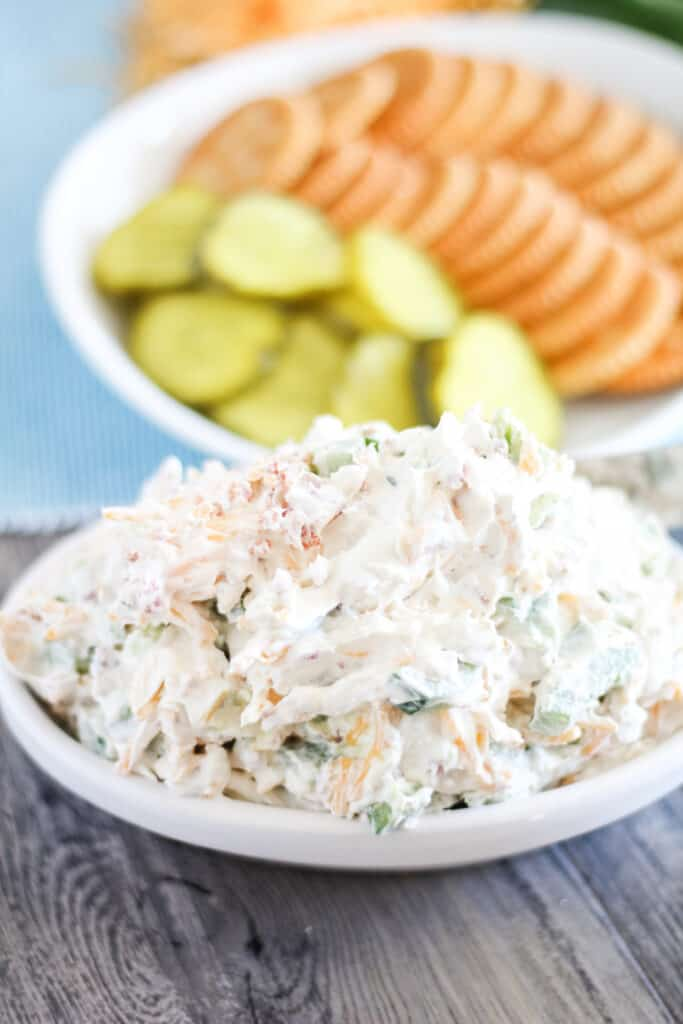 appetizer dip on white plate